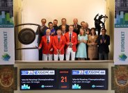 Opening AEX stock exchange by World Championships