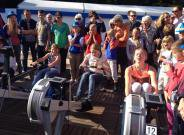 Grote finale Aegon Celebrate Rowing Tour