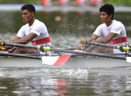 Training camp for small rowing nations