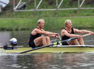 Murray and Bond's coxed pair debut