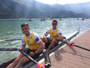 RT @RowingAust: Happy faces of the Men's Double who have booked an A-Final spot and a place for the boat in Rio #ARTeam #WRChamps  http://t.…