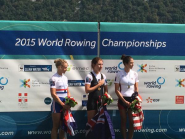 So very proud of @imogenwalsh - World silver medallist #WRChamps #aviron2015  http://t.co/XLOumQhR4G