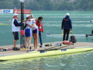 RT @PaulaJubilee: Lovely morning hug WRChamps #Aiguebelette  Congratulations Katherine Grainger and @VickyThornleyGB  http://t.co/Dn04RofZ…