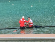That's Nick! awesome job by our IST staff supporting our athletes here at the #WRChamps @rowingcanada @nick_nclarke  http://t.co/K7u9DGdcQq