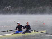 Hallo Saturday - lovely tranquil morning @Aviron2015 #WRChamps #Aiguebelette   Have a good day  http://t.co/zn7Xuhlcdx