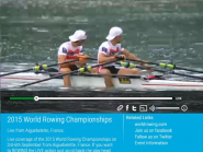 Watch FISA World Rowing CS 2015 live on  http://t.co/ZKRtwgotOW  or  http://t.co/j7Vxf7rDKI  @WorldRowing #WRChamps  http://t.co/u2Gh9pqy78