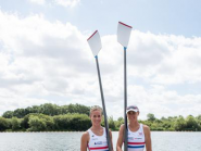 #WRChamps finals @Aviron2015 first up @helengloverGB & Heather Stanning @GBRowingteam 1215 BST #rowing #womensrowing  http://t.co/XrSREUqNcu
