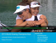 Replays of today's FISA WRowing CS 2015 on  http://t.co/ZKRtwgotOW  or  http://t.co/j7Vxf7rDKI  @WorldRowing #WRChamps  http://t.co/Key92EkiqZ