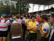 RT @RowingAust: Silver medallists waiting to go on and collect their medals! #ARTeam #WRChamps  http://t.co/OUXGfiYXIZ