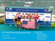 Highlights of today's FISA WRowing CS 2015 on  http://t.co/ZKRtwgotOW  or  http://t.co/j7Vxf7rDKI  @WorldRowing #WRChamps  http://t.co/z2X0MEoMeU