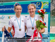 Women's Pair: Racing Against the Best feature now posted! #WRChamps  http://t.co/l77TlmEFfC   http://t.co/PxUs5dIshZ