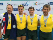 RT @RowingAust: How good? The Aus M4x snapped up silver in a cracking final in Aiguebelette! #ARTeam #WRChamps  http://t.co/f2EoMKS4T4