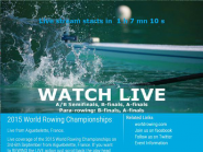 Get ready for FISA World Rowing Chps 2015 on  http://t.co/ZKRtwgotOW  or  http://t.co/j7Vxf7rDKI  @WorldRowing #WRChamps  http://t.co/a7zj8G9Op6