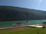 Aiguebelette Lake, @Aviron2015, #Savoie, ready for rowing ! Final day. #WRCH2015 WRChamps  http://t.co/dzT0g3QvrD