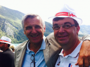 Welcome @DominiqueDord! Deputy of Savoie & mayor of @aixlesbainsfr @AssembleeNat #WRChamps #WRCH2015  http://t.co/320T7HQXie