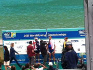 Ondrej Synek, @MaheDrysdale, the ultimate (?) fight in #Rio2016 #rowing #WRC15 #WRChamps  http://t.co/ofbyiVRUli