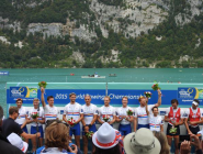 RT @PaulaJubilee: @BritishRowing & volunteers a fabulous job Lac d'Aiguebelette at the foot of the Epine Mountains in France #WRChamps http…
