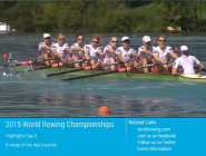 Highlights of today's FISA WRowing CS 2015 on  http://t.co/ZKRtwgotOW  or  http://t.co/j7Vxf7rDKI  @WorldRowing #WRChamps  http://t.co/0Lz9skKCgN