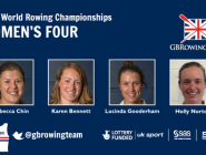 RT @GBRowingTeam: Here's the GB women's four for @aviron2015 #WRChamps - @Becca_Chin @KarenBennett89 @Lu_Gooderham @hollynortongbr http://t…