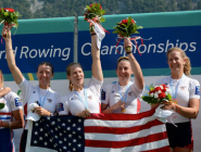 #tbt to 2012 Fan's Choice Collegiate Athlete of the Year, @kristine_obrien, bow seat of the 4- at the 2015 #WRChamps!  http://t.co/DduJ6ChCGZ